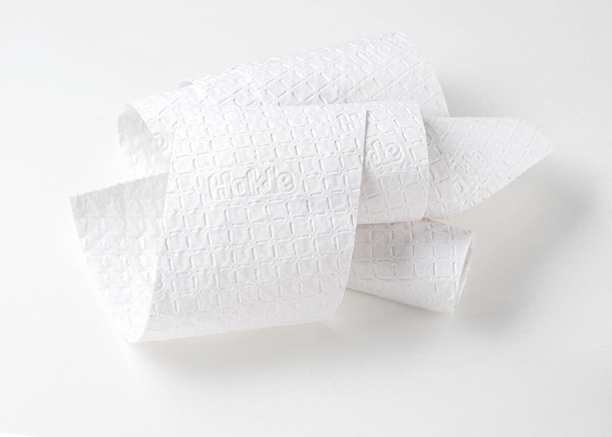 Hakle Toilettenpapier Papier Pur - in Papier verpackt