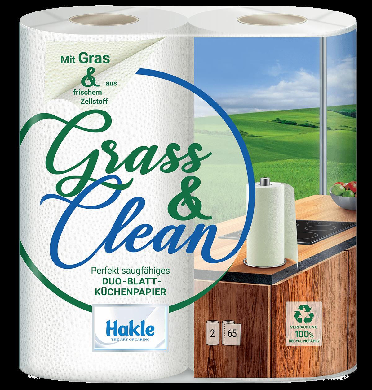 Hakle Grass & Clean Küchenrolle