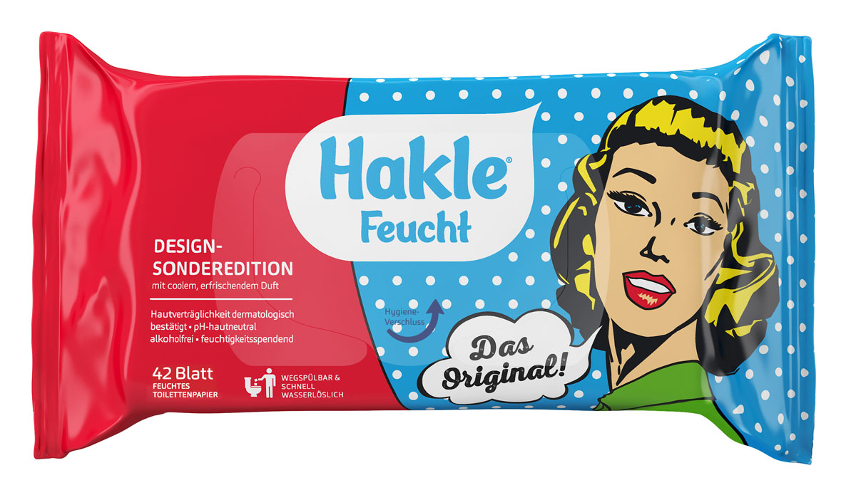 Hakle Feucht Retro Sonderedition