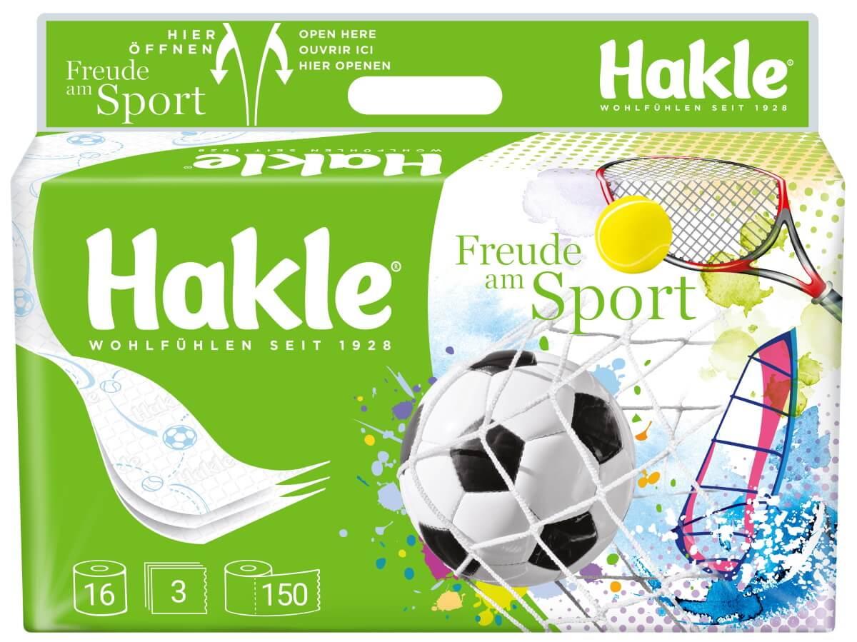 Hakle Toilettenpapier Edition Sport