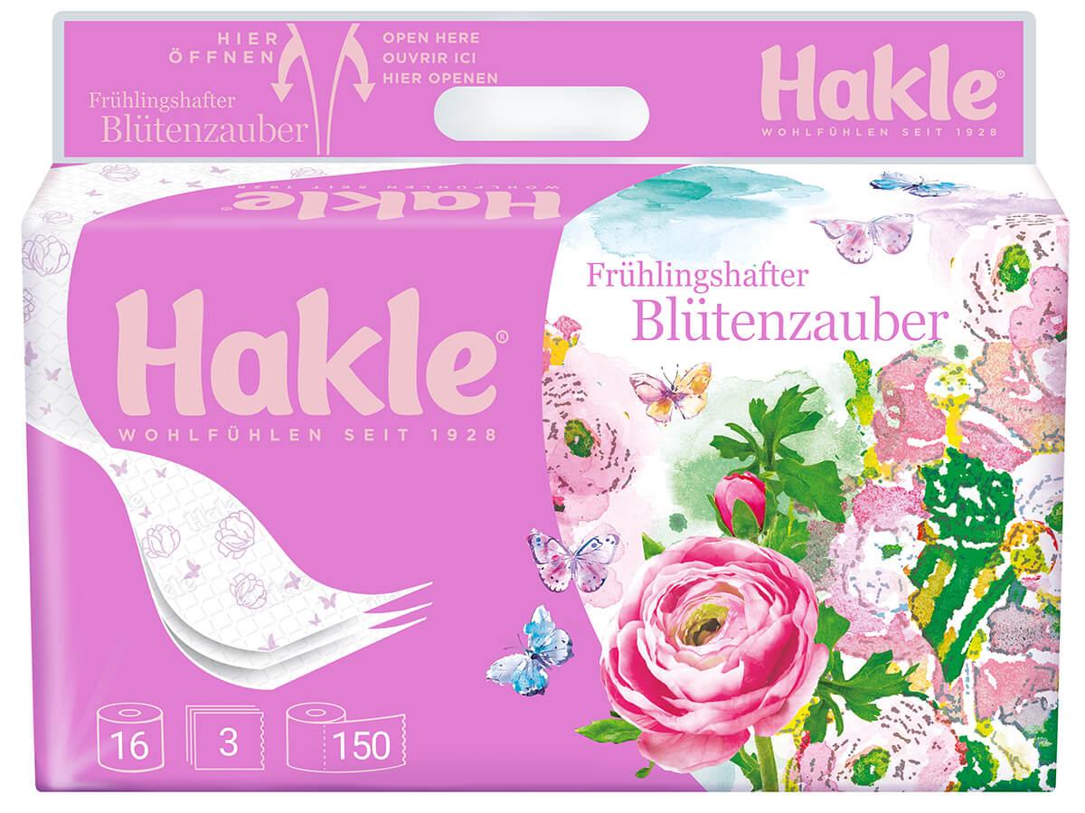 Hakle Toilettenpapier Edition Frühling